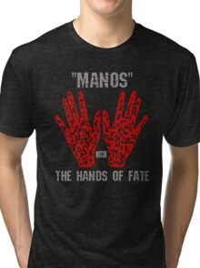 """Manos"" the hands of fate Tri-blend T-Shirt"