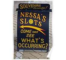 Fun at the Fair with Nessa's Slots Poster