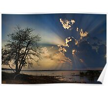 Sun Ray View Poster