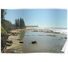 shelly beach  Poster