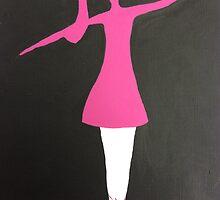 Ballet Silouette by Julie Anne Hughes