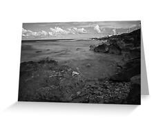 Rough Shore Greeting Card