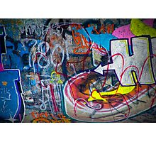 Graffiti in Edmonton Photographic Print