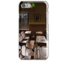 An old classroom with a view iPhone Case/Skin