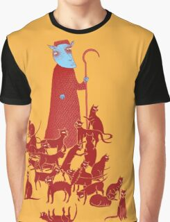 Herding Cats Graphic T-Shirt