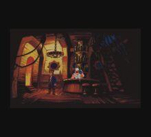 The barkeeper of Scabb Island Kids Tee