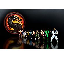 Mortal Kombat pixel art Photographic Print