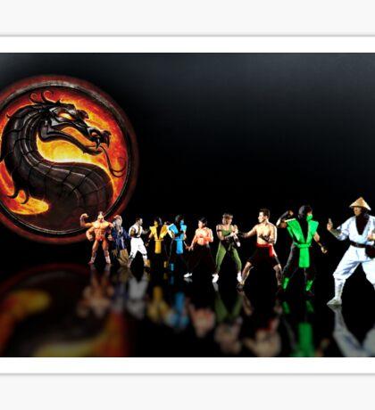 Mortal Kombat pixel art Sticker