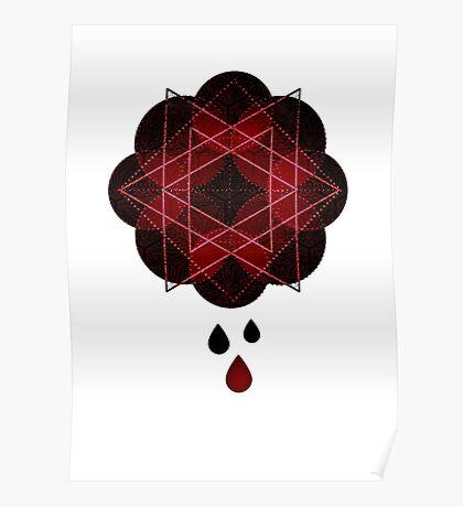Lotus Flower Demon Version Poster