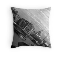 London Scape Throw Pillow