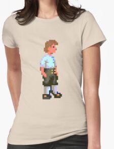 Guybrush (Monkey Island 1) Womens Fitted T-Shirt
