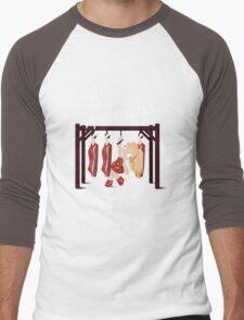 BTWBall Americano Meat Men's Baseball ¾ T-Shirt