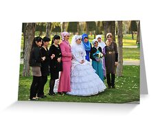 Dressed in White.... Greeting Card