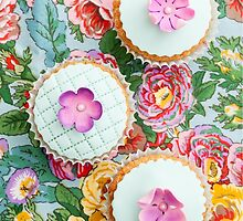 Decorated cupcakes by Elisabeth Coelfen