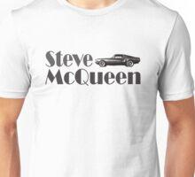 Steve McQueen & 1968 Ford Mustang GT Unisex T-Shirt