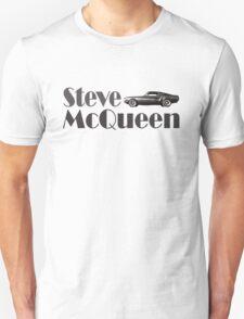 Steve McQueen & 1968 Ford Mustang GT T-Shirt