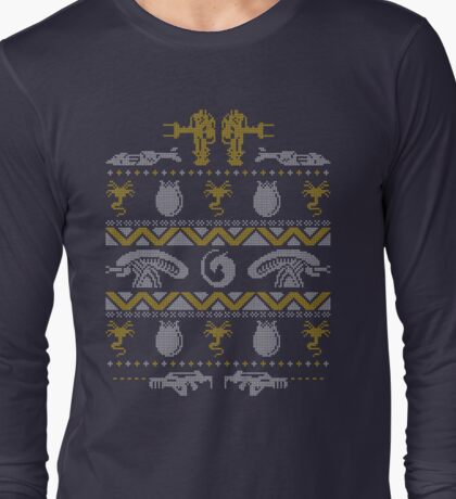 A Christmas Bug Hunt Long Sleeve T-Shirt