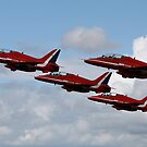 The Red Arrows  by Paul Knowles
