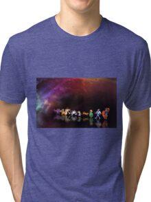 Earthworm Jim pixel art Tri-blend T-Shirt