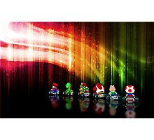 Super Mario Kart pixel art Photographic Print