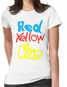 Primary Colors Womens Fitted T-Shirt