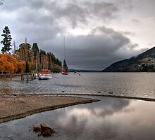 Lake Wakatipu by Christine Smith