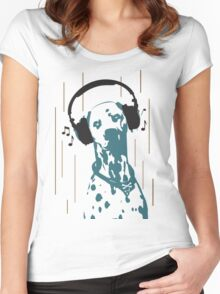 Dogmusic Women's Fitted Scoop T-Shirt