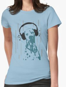 Dogmusic Womens Fitted T-Shirt