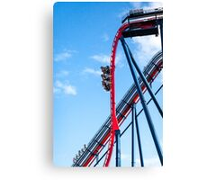 Rollercoaster Fun Canvas Print
