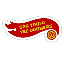 San Tablo Vee Dubbers Flame art by zacco
