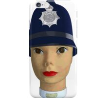 head of the police iPhone Case/Skin