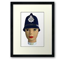 head of the police Framed Print