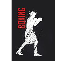 Boxing Photographic Print
