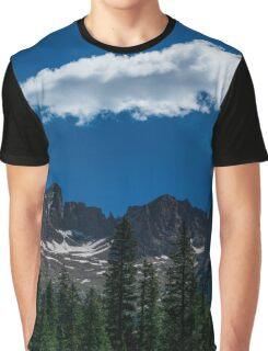 The clouds above the mountains Graphic T-Shirt