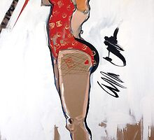 Inspired by Marilyne #2 by Cordell Cordaro