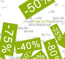 Steam Sales : Empty wallet season Sticker