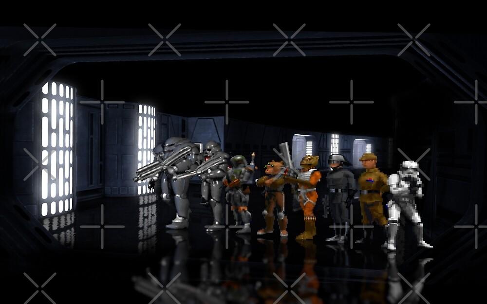 StarWars Dark Forces pixel art by smurfted