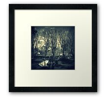 The Party's Over: Tomorrow's Another Day. Framed Print