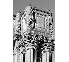 Roman Greco Pillar Photographic Print