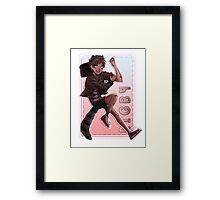Regular Show - Rigby Framed Print