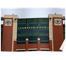 Lambeau Field - Green Bay Packers Poster