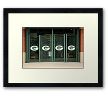 Lambeau Field - Green Bay Packers Framed Print
