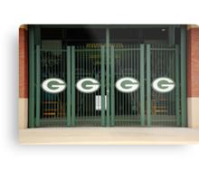 Lambeau Field - Green Bay Packers Metal Print