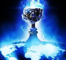 World Championship Trophy - League of Legends by ethrwen
