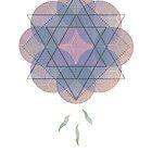 Lotus Flower Healing Version by Sybille Sterk