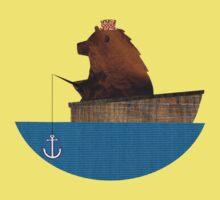 Cheltenham the Bear: Fishing Trip Kids Clothes