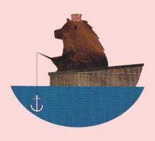 Cheltenham the Bear: Fishing Trip One Piece - Long Sleeve