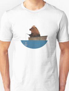Cheltenham the Bear: Fishing Trip Unisex T-Shirt