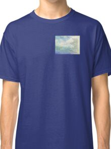 Serenity Prayer Clouds and Highway Classic T-Shirt