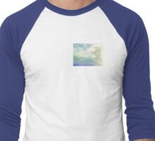 Serenity Prayer Clouds and Highway Men's Baseball ¾ T-Shirt